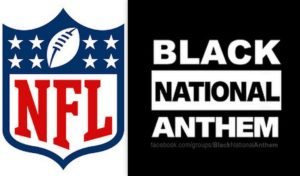 NFL and Black Anthem Logos