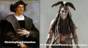 Columbus and Indigenous American